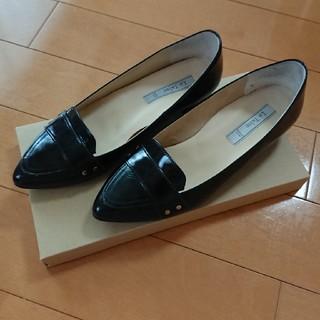 ルタロン(Le Talon)のルタロン レザーポインテッドローファー(ローファー/革靴)