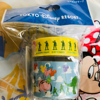 Disney - ディズニーリゾート限定商品!トイストーリーイラスト、マスキングテープ2本セット