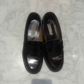 ハルタ(HARUTA)のHARUTAブラウンローファー24.5センチ(ローファー/革靴)