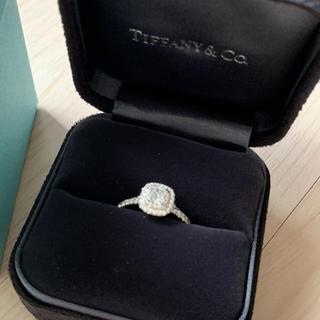 Tiffany & Co. - ティファニー ソレスト リング 0.35ct