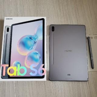SAMSUNG - Galaxy Tab S6 6GB/128GB SM-T860 グレー