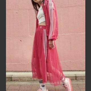 adidas - (新品)adidasチュールスカート(XOT)