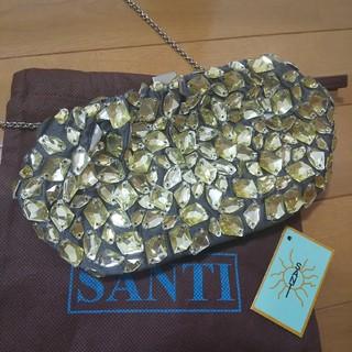 サンティ(SANTI)のサンティ ビジュークラッチ(クラッチバッグ)