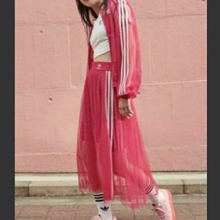adidas - (新品)adidasチュールスカート(OT)