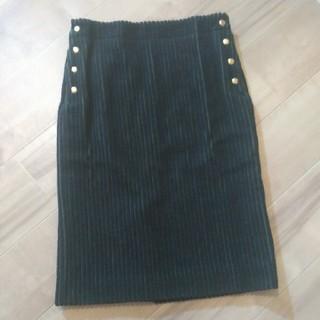 ドゥロワー(Drawer)の太コーデュロイスカート(ひざ丈スカート)