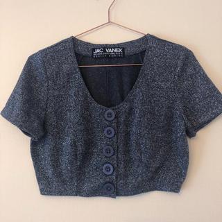 JAC VANEK★グリッターTシャツ(Tシャツ(半袖/袖なし))