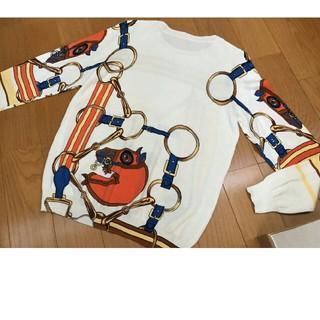 新品 レディース ニット 長袖 セーター XLサイズ