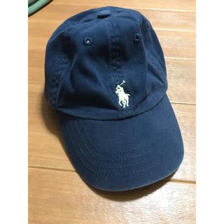 ポロラルフローレン(POLO RALPH LAUREN)のポロラルフローレン キャップ ネイビー 48センチ(帽子)