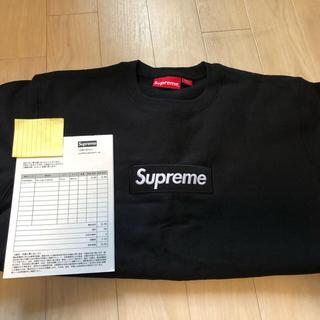 Supreme - 2018FW supreme box logo crewneck Mサイズ