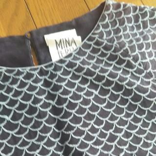 mina perhonen - ミナペルホネンマーメイドドレス