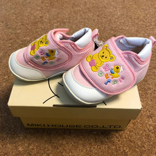 ミキハウス(mikihouse)のファーストシューズ ベビーシューズ ミキハウス ピンク 赤ちゃん 靴(スニーカー)