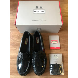 HUNTER - HUNTER ORIGINAL PENNY LOAFER UK6
