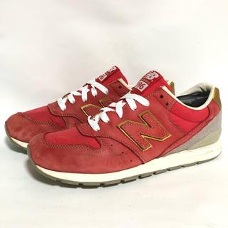 ニューバランス(New Balance)のT69 ★ 25.5cm★ニューバランスMRL996WR レッド赤色(スニーカー)