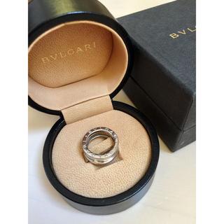 ブルガリ(BVLGARI)の正規品ブルガリ BVLGARIビーゼロワンリング ホワイトゴールド箱付き(リング(指輪))