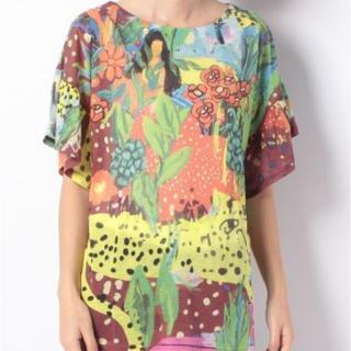 ツモリチサト(TSUMORI CHISATO)のツモリチサト キューバンガール Tシャツ(Tシャツ(半袖/袖なし))