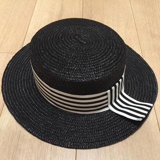 カシラ(CA4LA)のタグ付き新品AMERICAN HOLICハット(麦わら帽子/ストローハット)