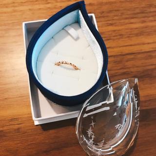 ヨンドシー(4℃)の4℃ ピンキーリング(リング(指輪))