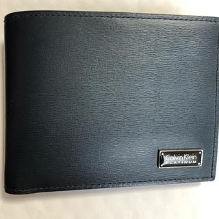 カルバンクライン(Calvin Klein)のcalvin klein  黒 サイフ(折り財布)