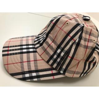 ボウダンショウネンダン(防弾少年団(BTS))のバーバリーチェック キャップ 帽子 BTS キムテヒョン テテ V(キャップ)