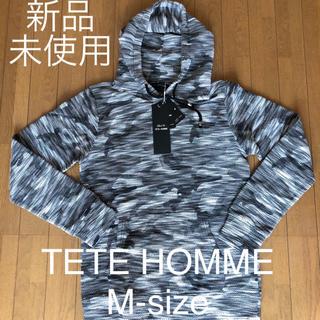 TETE HOMME - TETE HOMME パーカー M-size 新品未使用
