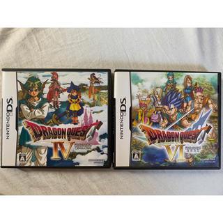 ニンテンドーDS - DS2個 ドラゴンクエストIV 導かれし者たち ドラゴンクエストVI 幻の大地