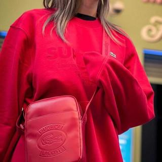supreme×Lacoste 18ss Shoulder Bag