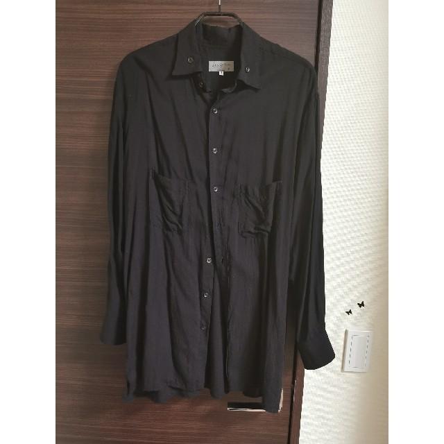 Yohji Yamamoto(ヨウジヤマモト)の値下げ YohjiYamamoto テンセルシャツ  メンズのトップス(シャツ)の商品写真