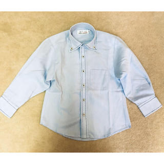Kansai Yamamoto - ブルー ワイシャツ 100cm
