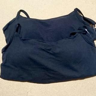 ムジルシリョウヒン(MUJI (無印良品))の無印良品:綿混あったかカップ付きキャミソールL2枚(キャミソール)
