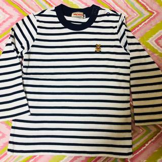 ミキハウス(mikihouse)の美品ミキホウスロン Tシャツ90cm(Tシャツ/カットソー)