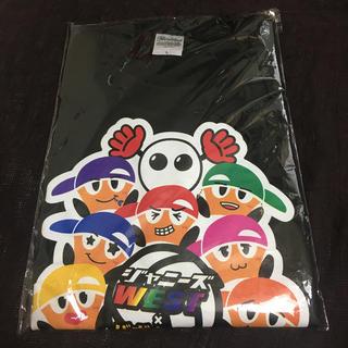 ジャニーズWEST - ジャニーズWEST ✕ バボちゃん コラボTシャツ(黒) L