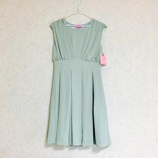 URBAN RESEARCH - アーバンリサーチ ドレス お呼ばれ ワンピース 結婚式 ミント グリーン