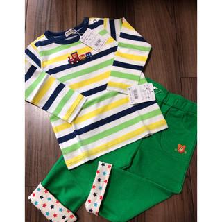 ミキハウス(mikihouse)のホットビスケッツのTシャツとパンツのセット(Tシャツ/カットソー)