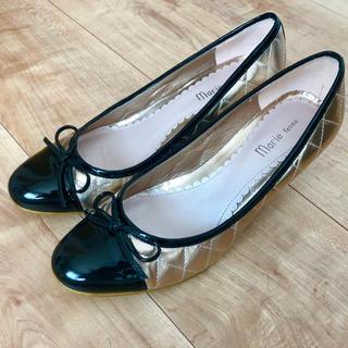 マリーファム(Marie femme)のマリーファム  パンプス エナメル 22㎝ 美品 レディース 靴(ハイヒール/パンプス)