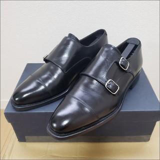 ペルフェット×WFG/ダブルモンク VIBRAMソール 革靴 PEREFETTO(ドレス/ビジネス)
