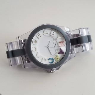 マークバイマークジェイコブス(MARC BY MARC JACOBS)の[n様専用]marc by mark jacobs スケルトン時計(腕時計)