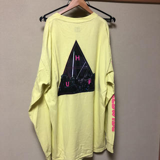 HUF - 【9/19まで出品】HUF ハフ ネオ東京ロンT イエロー
