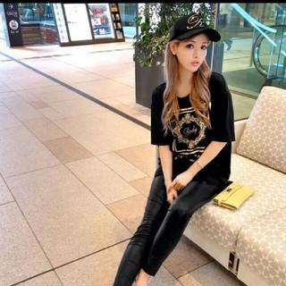 レディー(Rady)のradyのホテルシリーズTブラック(Tシャツ(半袖/袖なし))