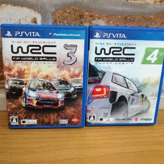PlayStation Vita - wrc3・4(vita)セット