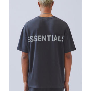 フィアオブゴッド(FEAR OF GOD)のfog essentials 半袖Tシャツ XXS 黒 新品 エッセンシャルズ(Tシャツ/カットソー(半袖/袖なし))