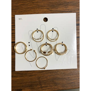 エイチアンドエム(H&M)のH&M 指輪(リング(指輪))