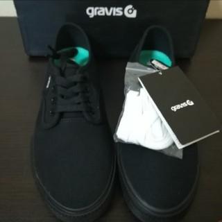 グラビス(gravis)のグラビス スリムズ2 ブラック(スニーカー)