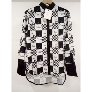 Dior - 人気新品Diorデイオール  シャツ 長袖 薄手 男女兼用