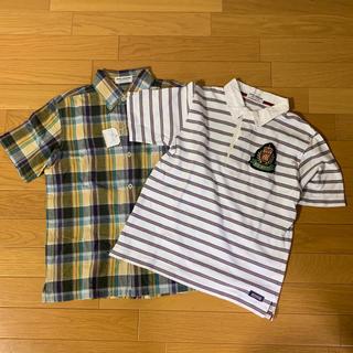 ミキハウス(mikihouse)のミキハウス 半袖シャツ  150cm 2枚セット(Tシャツ/カットソー)