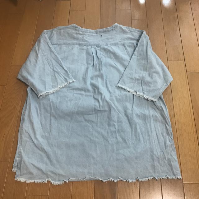 RAGEBLUE(レイジブルー)のメンズオーバーシャツ半袖サイズL メンズのトップス(Tシャツ/カットソー(半袖/袖なし))の商品写真