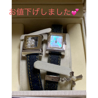 ミキモト(MIKIMOTO)の💠年末年始特価💕可愛らしくて上品なミキモトのパール入腕時計です。 (腕時計)