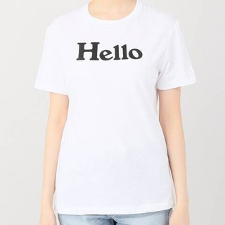 マディソンブルー(MADISONBLUE)のMADISONBLUE マディソンブルー Hello Tシャツ(Tシャツ(半袖/袖なし))