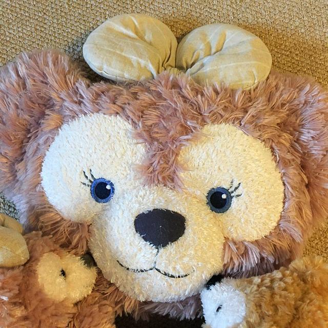ダッフィー(ダッフィー)のダッフィー のみパペット & クッション セット ディズニーシー エンタメ/ホビーのおもちゃ/ぬいぐるみ(ぬいぐるみ)の商品写真