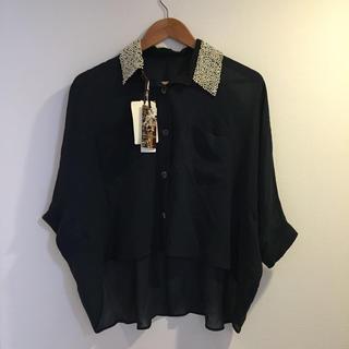 グレースコンチネンタル(GRACE CONTINENTAL)のグレース☆ショート丈シャツ(シャツ/ブラウス(半袖/袖なし))