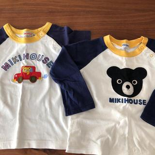 ミキハウス(mikihouse)のミキハウス Tシャツ、ロングTシャツセット(Tシャツ/カットソー)